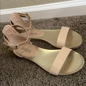 Guess patent leather sandals 8.5
